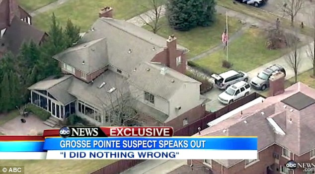 New discovery: Police searched the Grosse Pointe property again on Wednesday and found blood in the garage