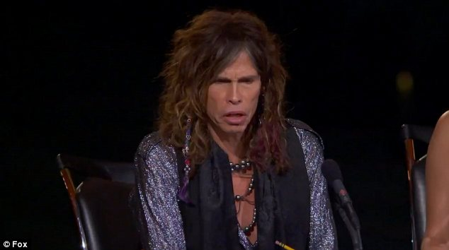 'She hit her head': Judge Steven Tyler was clearly taken aback by the turn of events