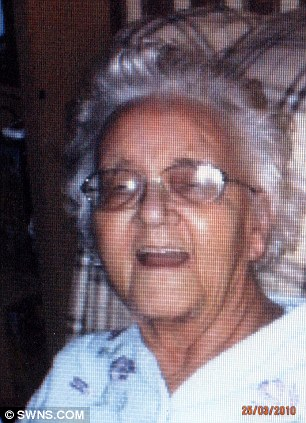 The late Joyce Stone whose grave was dug up in error when her daughter visited on the anniversary of her death