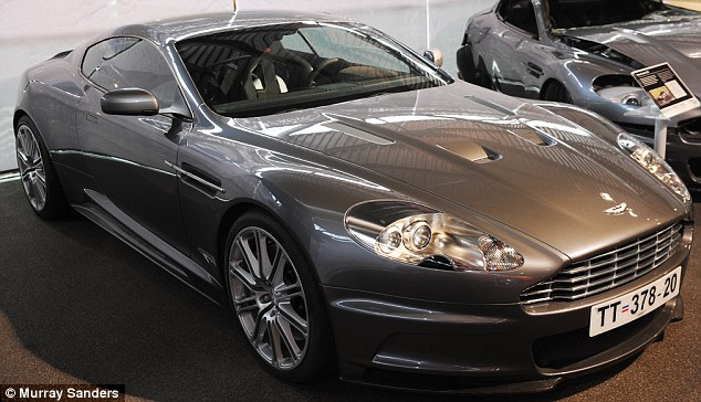 Modern version: Daniel drove a rather shinier Aston Martin DBS in 2006's Casino Royale