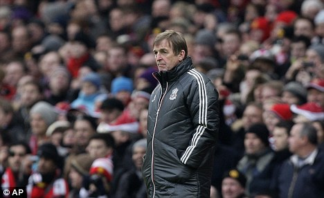 Conduct: Kenny Dalglish apologised for his controversial post-match comments