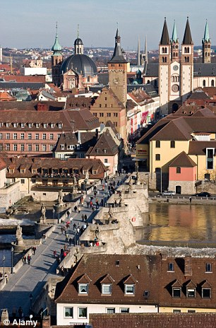 Witch trials: The town of Würzburg