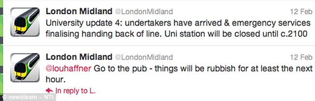 Too honest? The tweets that got London Midland into hot water