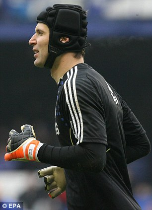 Uncertain future: Petr Cech