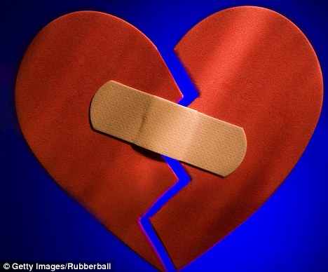 Time to heal: Failed relationships can cause physical as well as emotional pains