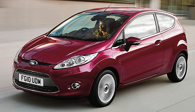 Smart buy: Top of the pile in the supermini category was the Ford Fiesta 1.25i
