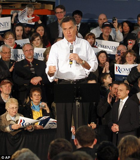 Faith: Mitt Romney's Mormon religion could be exploited by his rivals