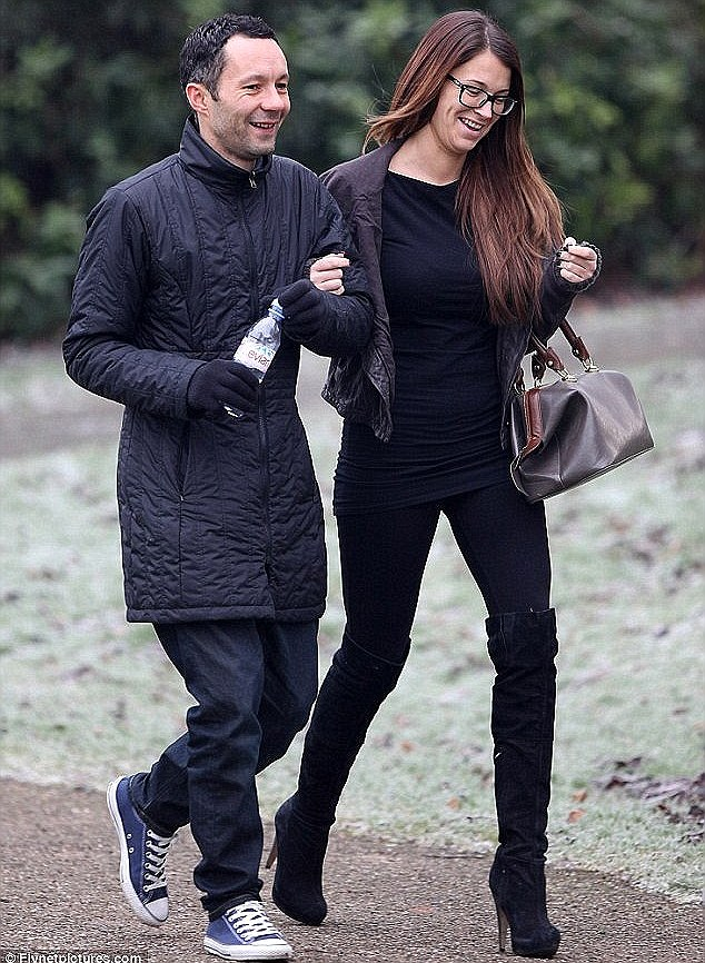Making it work: Natasha revealed that she and her husband are taking things slowly following her eight-year affair with his brother Ryan