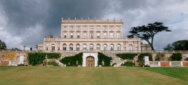 Where it all began:  Christine was swimming naked in the pool at Lord Astor's country estate, Cliveden in Buckinghamshire, one balmy summer evening in July 1961  when Astor and John Profumo strolled by