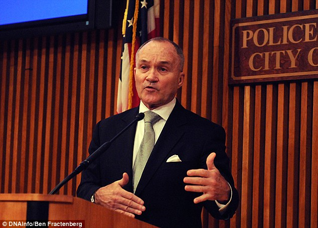 'Not a new threat:' Police across the country including the NYPD, led by commissioner Ray Kelly (pictured), have expressed fears that the U.S. faces an imminent attack from Iran