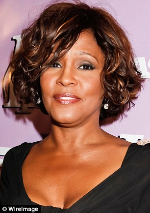 Passing of an icon: Whitney, picture two days before her death