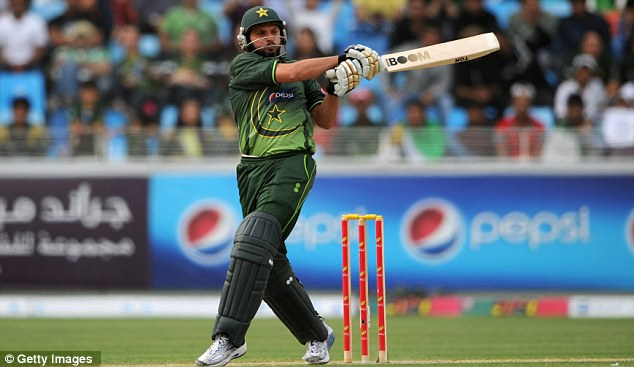 Boom Boom: Pakistan's Shahid Afridi offered strong resistance with a solid 51
