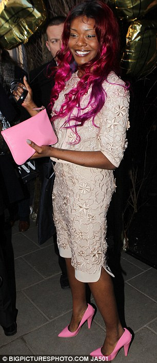 Success: Azealia Banks and Michelle Williams both looked as though they had enjoyed the show