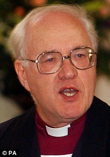 Former Archbishop of Canterbury Dr George Carey