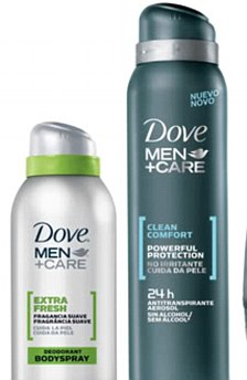 Dove skincare products for men