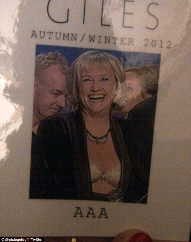 Bra-vo! The AAA pass featured Judy Finnigan from the 2000 National Television Awards