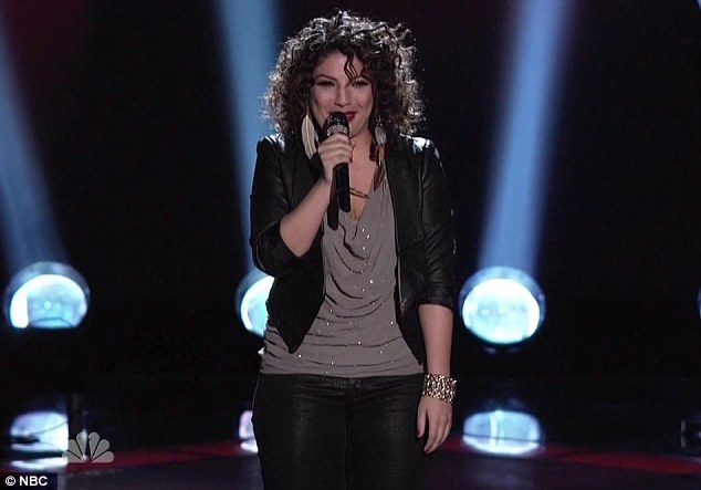 Ms. Know It All: Monique Benabou wows the crowd - and Christina - with her take on a Kelly Clarkson song