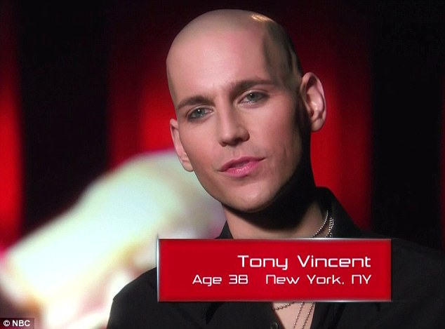 Broadway star: Tony Vincent has starred in shows like Rent and American Idiot