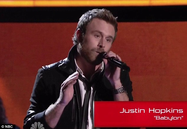 Don't forget the name: Justin Hopkins was in Carson Daly's house band on Last Call With Carson Daly