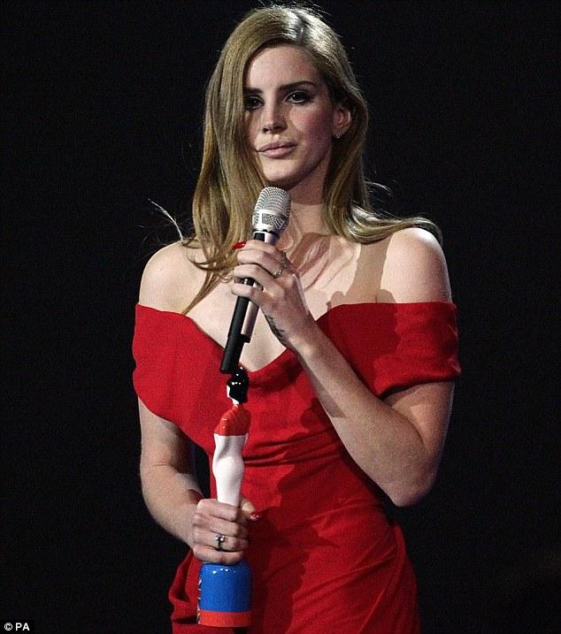 International breakthrough: Lana's popularity straddles the Atlantic