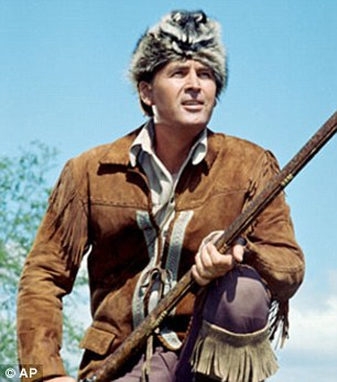 Comparison: Authorities say Knapp is like Davy Crockett, a 19th century survival expert portrayed by Fess Parker in the 1955 Disney film given his name