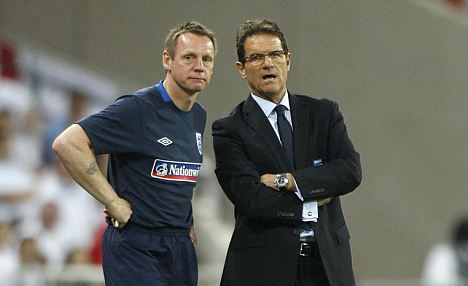 Experience: Pearce worked closely with Fabio Capello