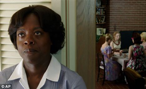Winner? Viola Davis in a scene from The Help, which is tipped for an Oscar at the weekend