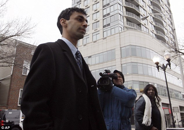 High profile: The case spurred a national conversation about how young gays are treated when news of it broke in September 2010 after Ravi's roommate, Tyler Clementi, committed suicide