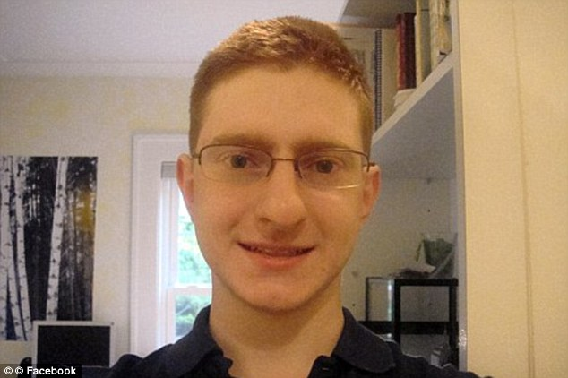 Hate crime: Ravi is facing 15 charges, including invasion of privacy, after he posted webcam video of his roommate Tyler Clementi (pictured) kissing a man