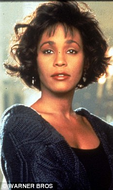 Legend: Whitney will be immortalised on screen