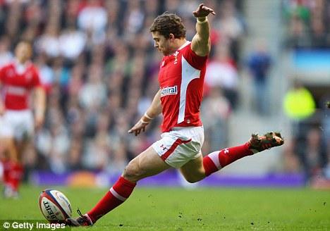 Solid performance: Halfpenny slotted five kicks
