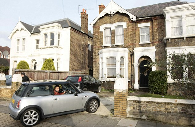 Nice wheels... how did you get them? Toorpakai's son Jawad Saindi, 21, pulls up to the family's £1.2million home in west London