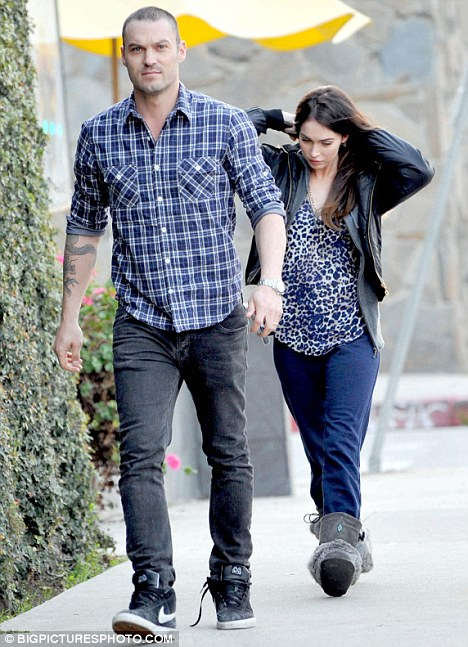 Soulmates: Megan tells Cosmo that husband Brian Austin Green is her 'soulmate'