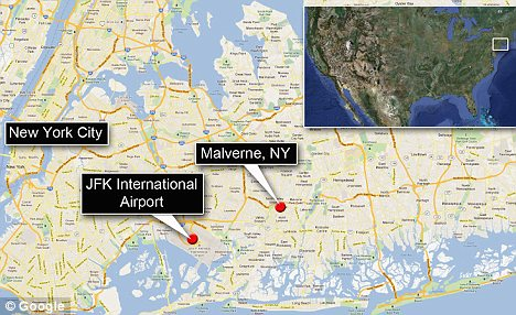 Ire in the sky: Located just several miles from Kennedy Airport, Malverne has struggled with arriving and departing flights in recent years