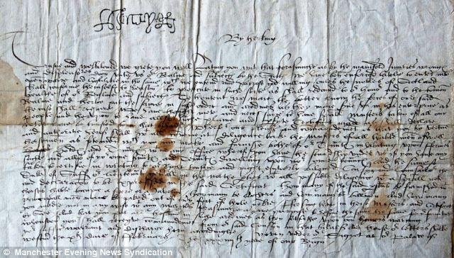 'Grace of God': The letter from Jane Seymour announcing the birth of the future King Edward VI
