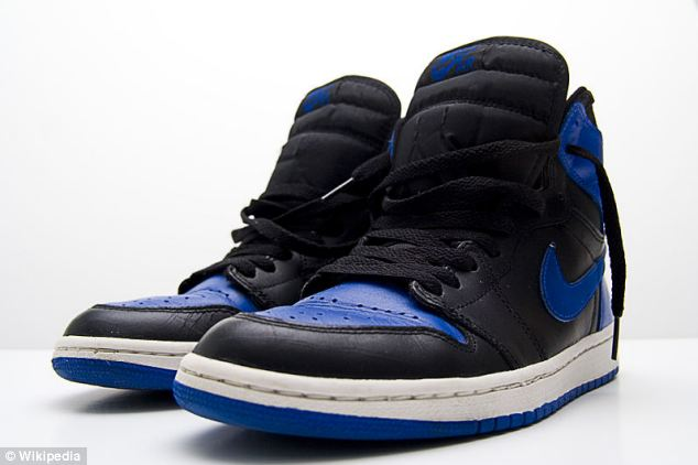Comeback: Retro-style Air Jordan trainers made by Nike sparked riots in December when they were released