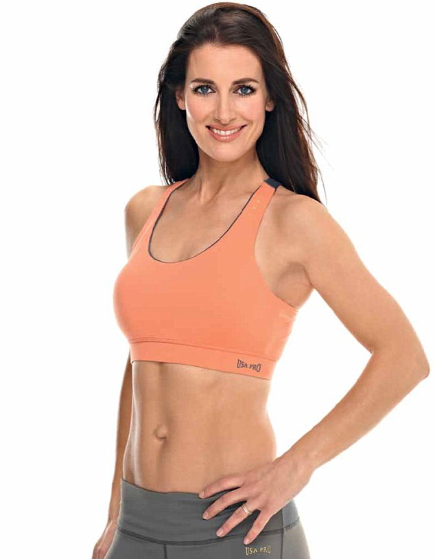 In a bid to emulate her sports hero Paula Radcliffe, Sky Sports presenter Kirsty Gallacher  has been working hard to perfect a toned body