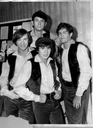 The Monkees pop group as they were in 1967