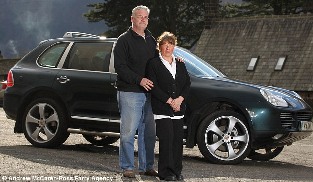 Outrage: The Reades have demanded that the work of Car Stoppers Ltd is looked into after they fell victim to the company
