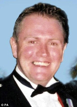 Shooting: Sergeant Steven Roberts was accidentally shot by a colleague in Iraq in March 2003