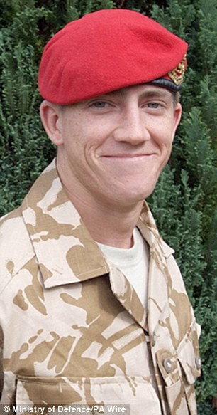 Killed: Lance Corporal Michael Pritchard who was shot by a British Army sniper in Afghanistan. Under the reforms, the inquest would have to be held in secret to protect sensitive military information