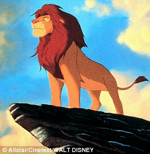 Regal echo: The 1996 Disney film created several iconic images of main character standing on a cliff edge