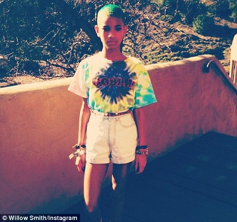 Kermit, is that you? The 11-year-old singer has changed her hair three times in a month