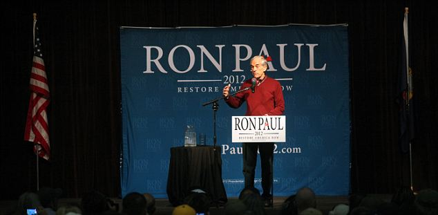 Long haul: Without any wins outside the South for Gingrich, there would be pressure for him to drop out while Paul is likely to stay in the race for the long haul