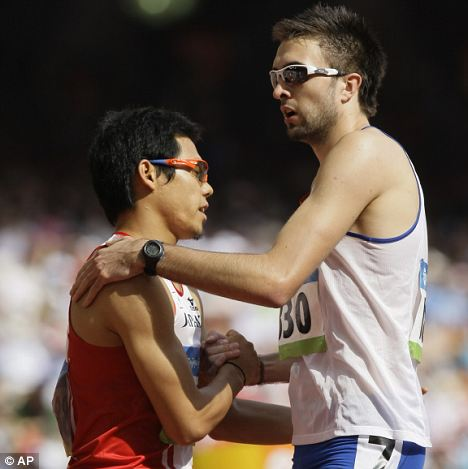 Health scare: The British team has been advised by its top doctor to avoid shaking hands with rivals