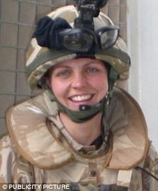 Tragedy: Prince William's friend Joanna Dyer, 24, was killed in 2007