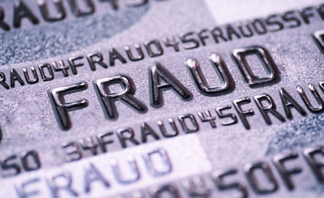 Alert: The total cost of scams on credit and debit cards fell by 7 per cent to £341million in 2011, according to Financial Fraud Action UK