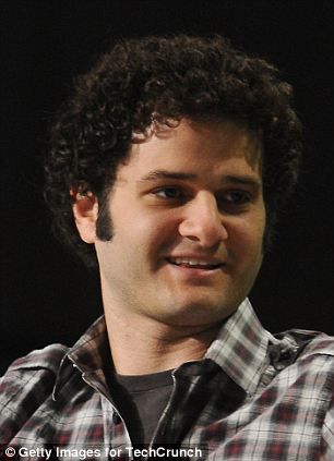 Youngest: Dustin Moskovitz (left) and Mark Zuckerberg (right) are Facebook's two youngest billionaires