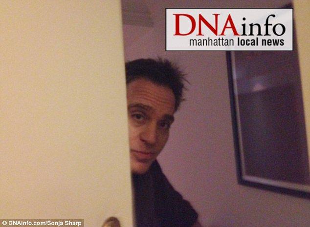 Denial: David Walker, a Morgan Stanley broker, says he had no business dealings with Gristina