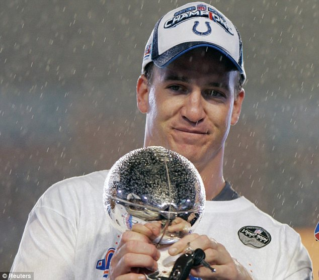 Champion: Manning forever will be remembered in Indianapolis as No. 18, the quarterback who led the Colts to a Super Bowl victory in 2006